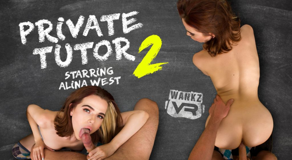 Wankzvr private tutor 2 ft alina west 10