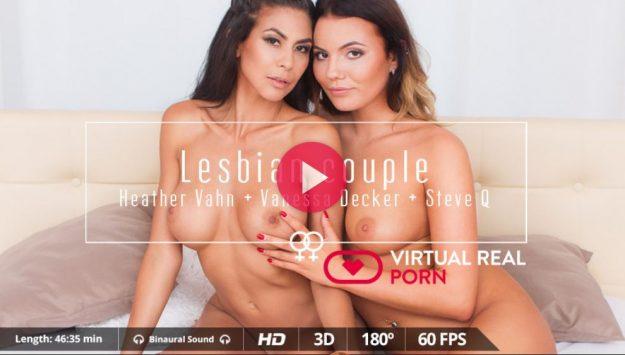 virtual reality lesbian porn
