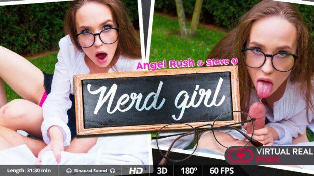 teen vr girl nerd with glasses sex video Angel Rush
