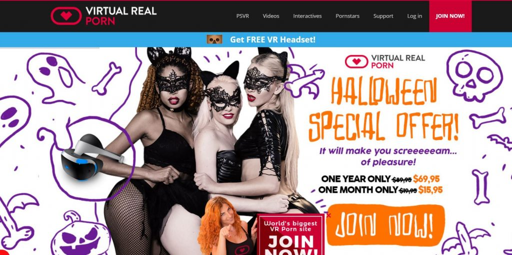 virtualrealporn halloween special discount