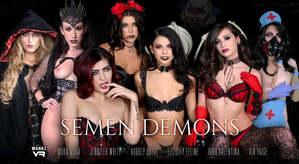 Semen Demons Halloween Special 2017