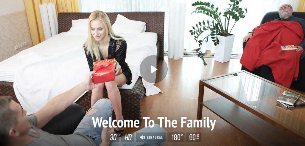 VR incest virtual taboo step family sex