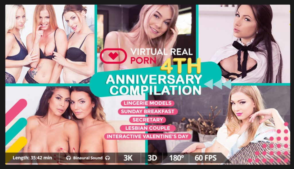 VirtualRealporn 4th Anniversary