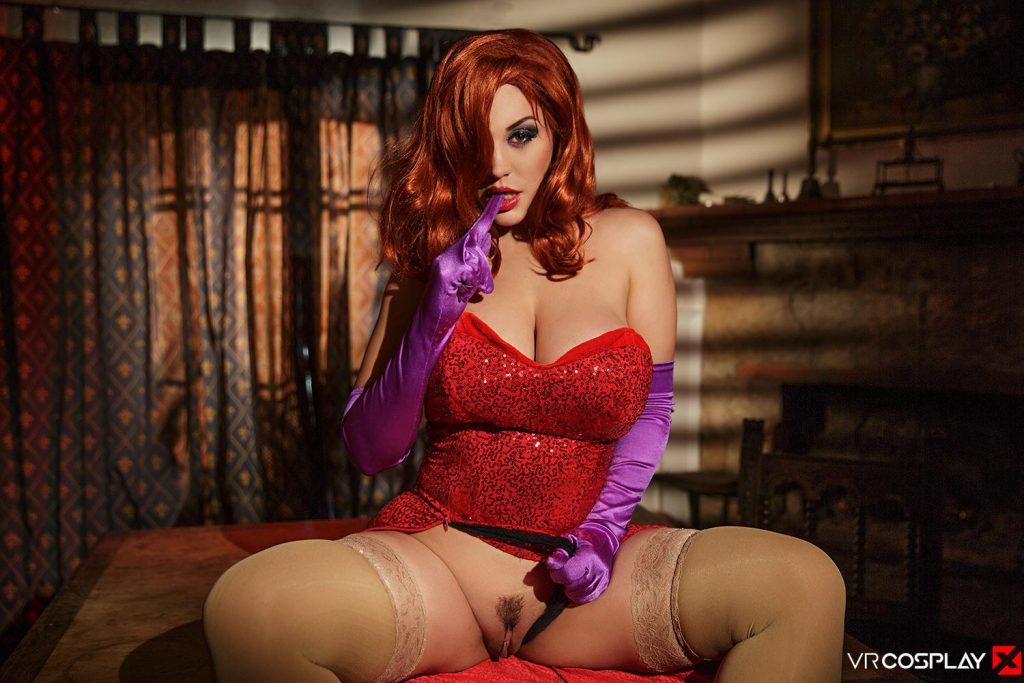 vr cosplay Jessica Rabbit