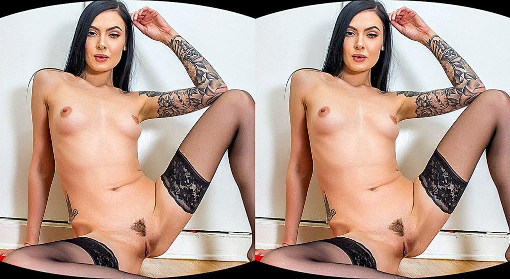 vr porn movie starring Marley Brinx