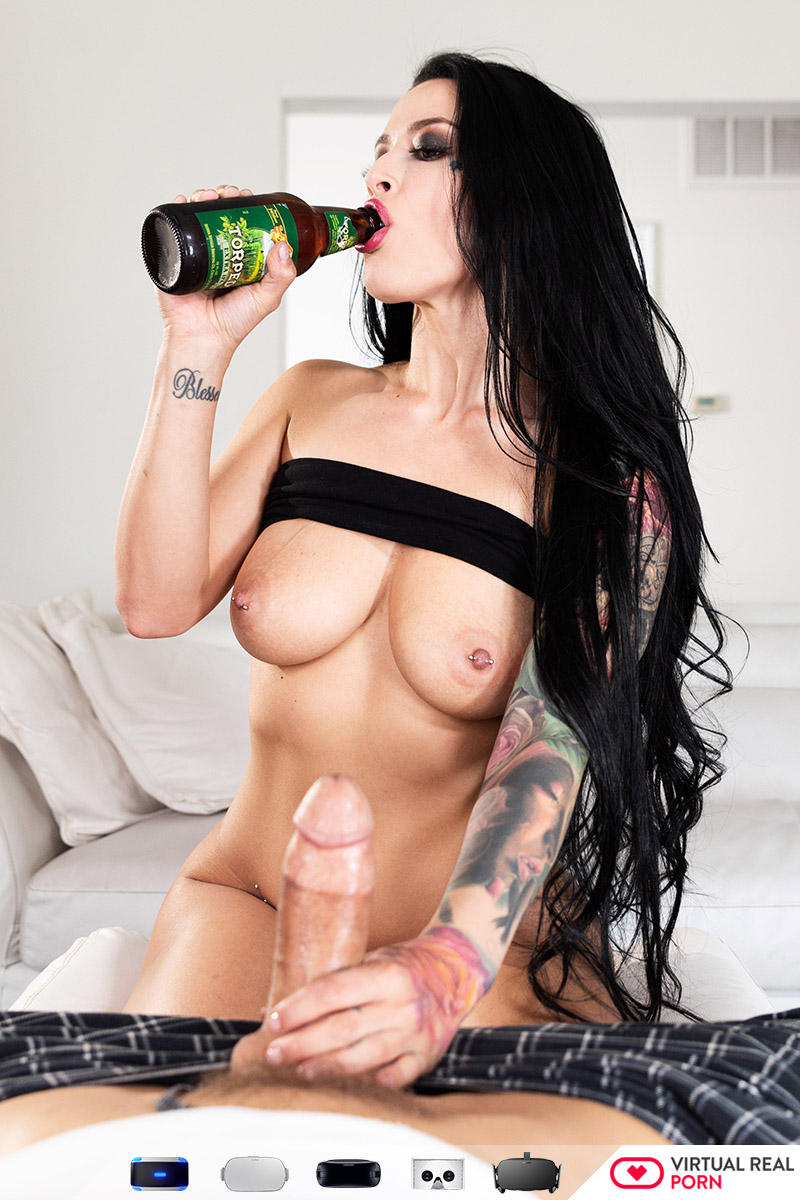 Big tits and black cock