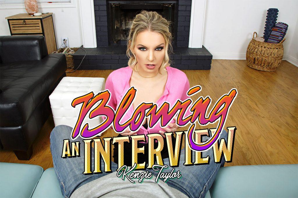 BadoinkVR Blowing an Interview