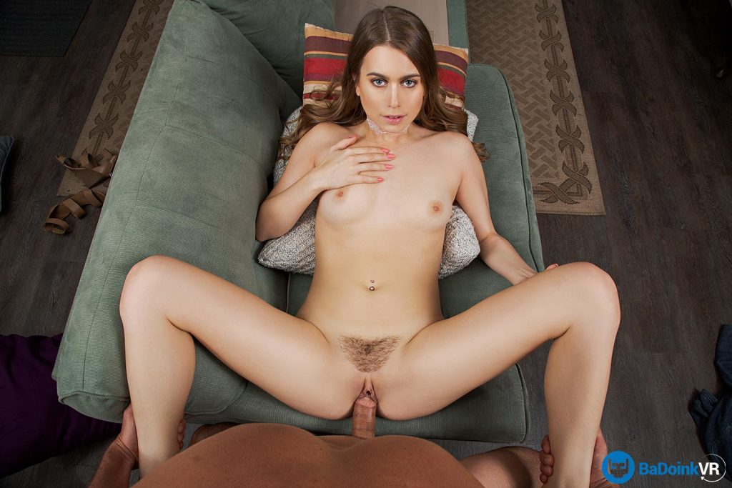 girl fucked in vr porn with legs spread