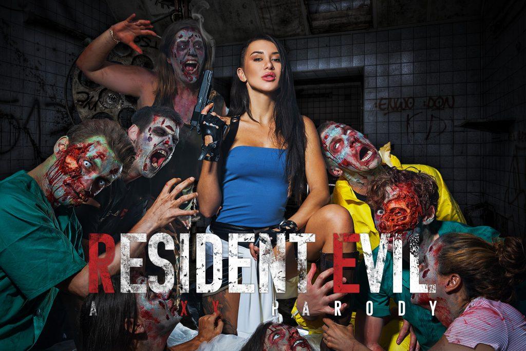 VRCosplayX Resident Evil porn parody cover