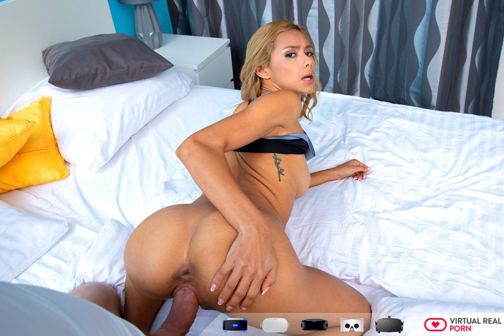 doggy style vr sex with Veronica Leal