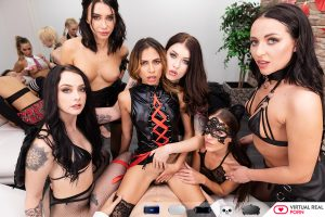 image from 5K vr porn movie orgy scene