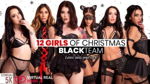 VirtualRealPorn 12 Days of Christmas Black Team video cover