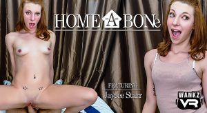WankzVR Home-A-Bone vr video poster