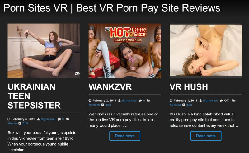 New VR Porn Review Site