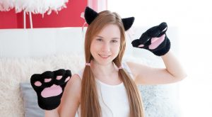 Alice Klay cute Russian teen VR girl
