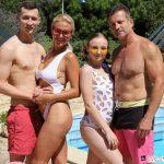 Ukrainian stepfamily sex in VR
