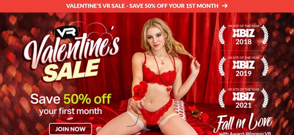 WankzVR - Valentine's Day